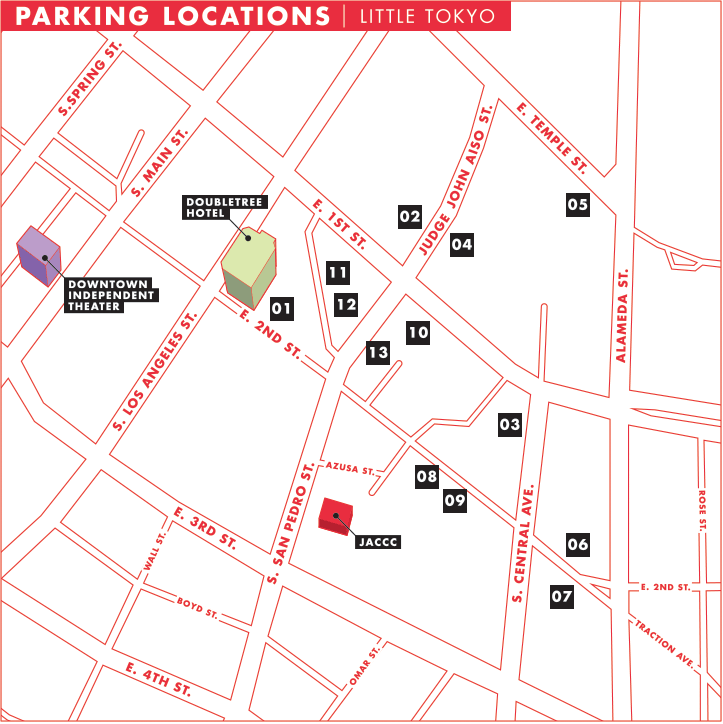 Parking Map - AkibaFest